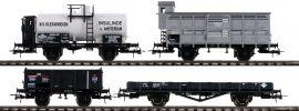 Roco 76077 Güterwagen Set 4-tlg.   DC   Spur H0 online kaufen
