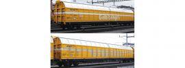 Roco 76087 2-tlg. Set Schiebewandwagen Post SBB | DC | Spur H0 online kaufen