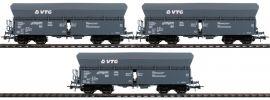 Roco 76092 3-tlg. Set Selbstentladewagen VTG | DC | Spur H0 online kaufen