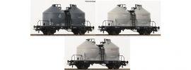 Roco 76093 Silowagen DB | Set 3-tlg | DC | Spur H0 online kaufen