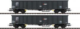 Roco 76099 Offene Güterwagen Set 2-tlg Eanos AWT | DC | Spur H0 online kaufen