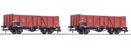 Roco 76104 Güterwagen-Set 2-tlg. Wddo 52 PKP | DC | Spur H0 online kaufen