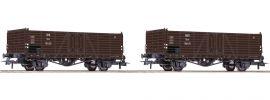 Roco 76106 2-tlg. Set Offene Güterwagen | ÖBB | DC | Spur H0 online kaufen