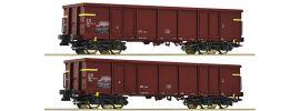 Roco 76127 Offene Güterwagen Set 2-tlg. Eaos FS | DC | Spur H0 online kaufen