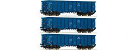 Roco 76128 Güterwagen-Set 3-tlg. Eaos PKP Cargo | DC | Spur H0 online kaufen