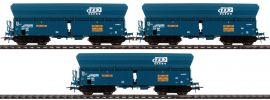 Roco 76132 Selbstentladewagen Set 3-tlg Falns SNCB | DC | Spur H0 online kaufen