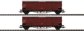 Roco 76164 Spitzdachwagen-Set 2-tlg. FS | DC | Spur H0 online kaufen
