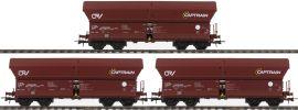 Roco 76187 Selbstentladewagen 3-er Set | Captrain | Exclusiv | Spur H0 online kaufen
