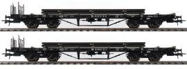 Roco 76196 2-tlg. Set Rungenwagen | DR | DC | Spur H0 online kaufen