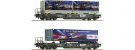 Roco 76198 2-tlg. Set Taschenwagen Hupac | DC | Spur H0 online kaufen