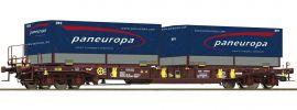 Roco 76226 Taschenwagen T3 Sdgmns 33 AAE | Spur H0 online kaufen