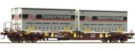 Roco 76228 Taschenwagen T3 Sdgmns 33 AAE   Spur H0 online kaufen