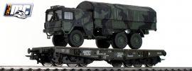Roco 76394 Schwerlastwagen mit MAN 6x6 Bundeswehr DB AG | Spur H0 online kaufen