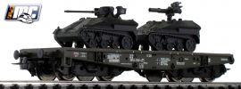 Roco 76395 Schwerlastwagen mit 2x Wiesel Bundeswehr DB AG | Spur H0 online kaufen