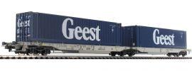 Roco 76418 Gelenktaschenwagen Sdgmmrs/T2000 Geest AAE | DC | Spur H0 online kaufen