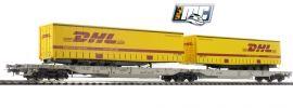 Roco 76424 Doppeltaschenwagen T-2000 DHL | AAE | DC | Spur H0 online kaufen