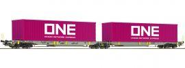 Roco 76426 Doppeltaschen-Gelenkwagen Sdggmrs/T2000 AAE   Spur H0 online kaufen