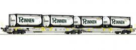 Roco 76427 Gelenktaschenwagen T2000 Rinnen AAE | DC | Spur H0 online kaufen
