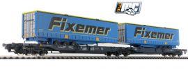 Roco 76434 Gelenktaschenwagen Fixemer Wascosa | DC | Spur H0 online kaufen