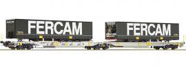 Roco 76435 Doppeltaschenwagen T2000 Fercam AAE   DC   Spur H0 online kaufen