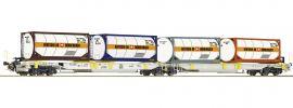Roco 76438 Doppeltaschen-Gelenkwagen Sdggmrs/T2000 AAE   Spur H0 online kaufen