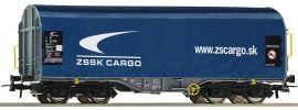 Roco 76441 Schiebeplanenwagen ZSSK Cargo | DC | Spur H0 online kaufen