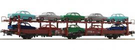 Roco 76458 Autotransportwagen Laes 543 mit VW DB | DC | Spur H0 online kaufen