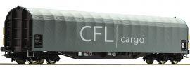 Roco 76477 Schiebeplanenwagen CFL Cargo | DC | Spur H0 online kaufen