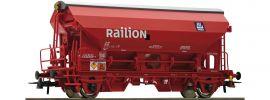 Roco 76579 Schwenkdachwagen Tds DB | DC | Spur H0 online kaufen