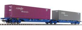 Roco 76641 Gelenktragwagen Sggmrs Renfe | DC | Spur H0 online kaufen