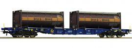 Roco 76737 Containertragwagen Spedition Bertschi CEMAT | DC | Spur H0 online kaufen