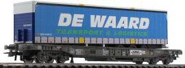 Roco 76754 Einheitstaschenwagen De Waard HUPAC | DC | Spur H0 online kaufen