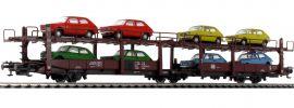 Roco 76834 Autotransportwagen Laes 543 DB | DC | Spur H0 online kaufen