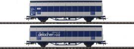 Roco 76877 Schiebewandwagen-Doppeleinheit delacher+co Himrrs ÖBB | DC | Spur H0 online kaufen