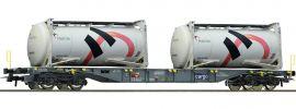Roco 76943 Containertragwagen m. Holcim Tankcontainer SBB | DC | Spur H0 online kaufen