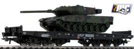Roco 76944 Schwerlastwagen mit Leopard Panzer DB | DC | Spur H0 online kaufen