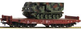 Roco 76954 Schwerlastwagen Salmmp mit Panzer FS | DC | Spur H0 online kaufen