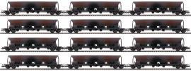 Roco 77915 12-tlg. Display Selbstentladewagen DR | DC | Spur H0 online kaufen