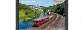 Roco 80719 NEUHEITEN-Katalog 2019 | deutsch | Spur H0 + H0e gratis online kaufen