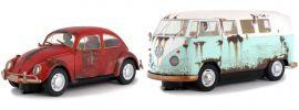 SCALEXTRIC 3966A VW Käfer/Bus T1 | Rat Look | Limited Edition | Slot Car Set 1:32 online kaufen