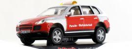 Schuco 25124 Porsche Cayenne Turbo Porsche Werksicherheit  Modellauto 1:87 online kaufen