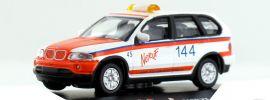 Schuco 25158 BMW X5 Notruf 144  Rettungsdienst Seetal CH | Modellauto 1:87 online kaufen