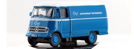 Schuco 25381 Mercedes-Benz  L319 Kasten Schweizer Fernsehen  Modellauto 1:87 online kaufen