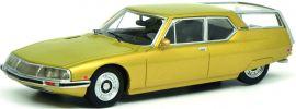 Schuco 450021200 Citroën SM, gold | Modellauto 1:18 online kaufen