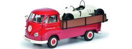 Schuco 450037100 VW T1b Pritsche PORSCHE Formel V | Automodelle 1:18 online kaufen