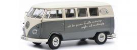 Schuco 450037700 VW T1b mit Slogan | Modellauto 1:18 online kaufen