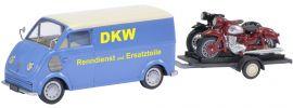 Schuco 450238800 DKW Schnelllaster mit Motorradanhänger | Automodell 1:43 online kaufen