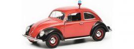 Schuco 450258900 VW Käfer Ovali Feuerwehr | Modellauto 1:43 online kaufen