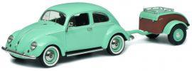 Schuco 450269900 VW Käfer Ovali, türkis | Automodell 1:43 online kaufen