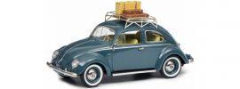 Schuco 450270800 VW Brezelkäfer mit Gepäck | MHI Edition | Modellauto 1:43 online kaufen